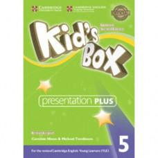 Диск Kid's Box Updated Second Edition 5 Presentation Plus DVD-ROM