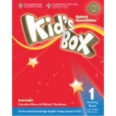 Рабочая тетрадь Kid's Box Updated Second edition 1 Activity Book