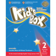 Рабочая тетрадь Kid's Box Updated Second edition 2 Activity Book
