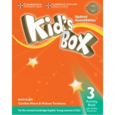 Рабочая тетрадь Kid's Box Updated Second edition 3 Activity Book