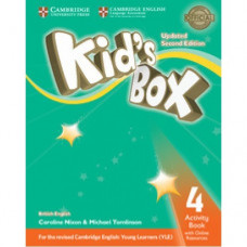 Рабочая тетрадь Kid's Box Updated Second edition 4 Activity Book