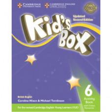 Рабочая тетрадь Kid's Box Updated Second edition 6 Activity Book