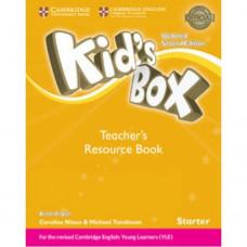 Книга для учителя Kid's Box Updated Second edition Starter Teacher's Book