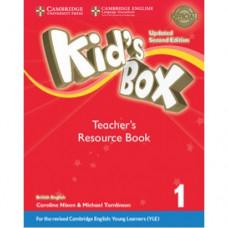 Книга для учителя Kid's Box Updated Second edition 1 Teacher's Resource Book