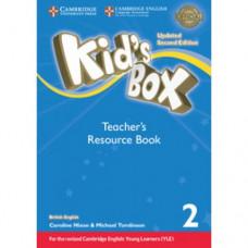 Книга для учителя Kid's Box Updated Second edition 2 Teacher's Resource Book