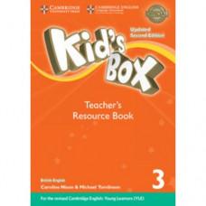 Книга для учителя Kid's Box Updated Second edition 3 Teacher's Resource Book