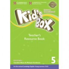 Книга для учителя Kid's Box Updated Second edition 5 Teacher's Resource Book