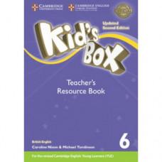 Книга для учителя Kid's Box Updated Second edition 6 Teacher's Resource