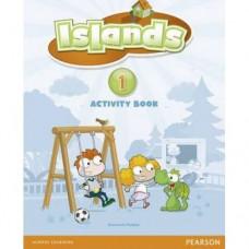 Рабочая тетрадь Islands 1 Activity Book with pincode