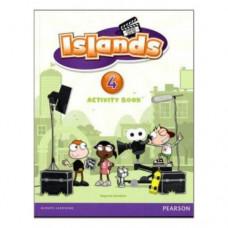 Рабочая тетрадь Islands 4 Activity Book