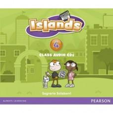 Диски Islands 4 Class Audio Cds (4)