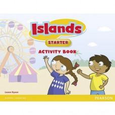 Рабочая тетрадь Islands Starter Activity Book  with pincode