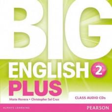Диски Big English Plus 2 Class Audio CDs