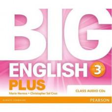 Диски Big English Plus 3 Class Audio CDs