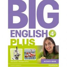 Рабочая тетрадь Big English Plus 4 Activity Book