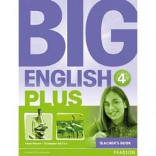 Книга для учителя  Big English Plus 4 Teacher's Book