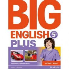 Рабочая тетрадь Big English Plus 5  Activity Book