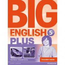 Книга для учителя  Big English Plus 5 Teacher's Book