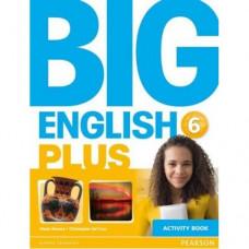 Рабочая тетрадь Big English Plus 6 Activity Book