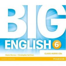 Диски Big English Plus 6 Class Audio CDs