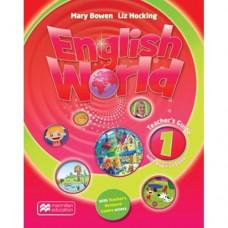 Книга для учителя English World 1 Teacher's Book