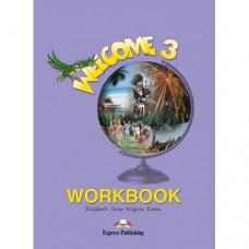Рабочая тетрадь Welcome 3 Workbook