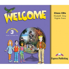 Диски Welcome 3 Class CDs (Set of 3)