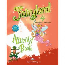 Рабочая тетрадь  Fairyland 4 Activity Book