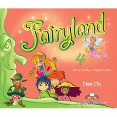 Диски Fairyland 4 Class CDs (Set of 4)