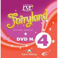 Диск Fairyland 4 DVD