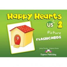 Карточки Happy Hearts 2 Picture Flashcards