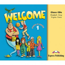 Диски Welcome 1 Class CDs (Set of 3)
