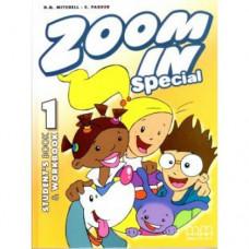 Учебник  Zoom in 1 Student's Book + Workbook with CD-ROM