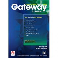 Книга для учителя Gateway B1 (Second Edition) Teacher's Book Premium Pack