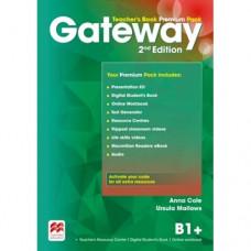 Книга для учителя Gateway B1+ (Second Edition) Teacher's Book Premium Pack