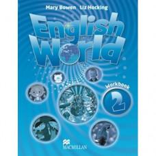 Рабочая тетрадь English World 2 Workbook