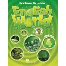 Рабочая тетрадь English World 4 Workbook