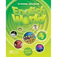 Книга для учителя English World 4 Teacher's Book