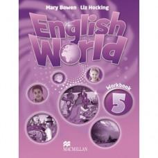 Рабочая тетрадь English World 5 Workbook