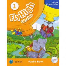 Учебник  Fly High Ukraine 1 Pupil's Book + Audio CD