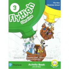 Рабочая тетрадь Fly High Ukraine 3 Activity Book