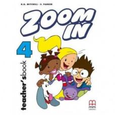 Книга для учителя Zoom in 4 Teacher's Book