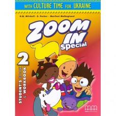 Учебник  Zoom in 2  Student's Book + Workbook with CD-ROM