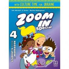 Учебник Zoom in 4 Student's Book + Workbook with CD-ROM