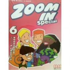 Учебник Zoom in 6 Student's Book + Workbook with CD-ROM