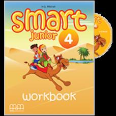 Рабочая тетрадь Smart Junior 4 Workbook with CD-ROM