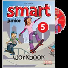 Рабочая тетрадь Smart Junior 5 Workbook with CD-ROM