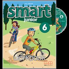 Рабочая тетрадь Smart Junior 6 Workbook with CD-ROM