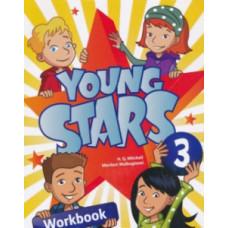 Рабочая тетрадь Young Stars 3 Workbook with CD