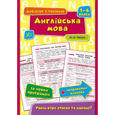 Довідник у таблицях (1-4 класи)